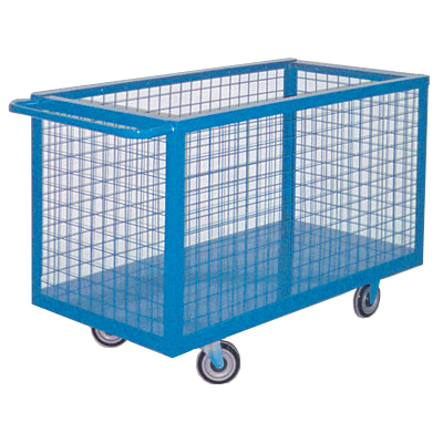 Material Handling Box Cart 24&quot; x 48&quot; 